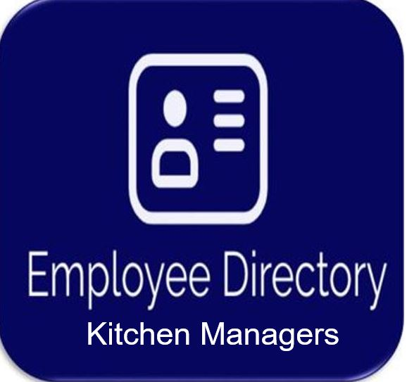 Directory of Kitchen Managers