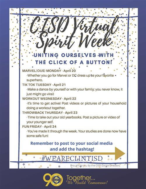 CISD Virtual Spirit Week