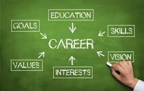 Career, Education,Skilss,Vision,Interests,Values,Goals