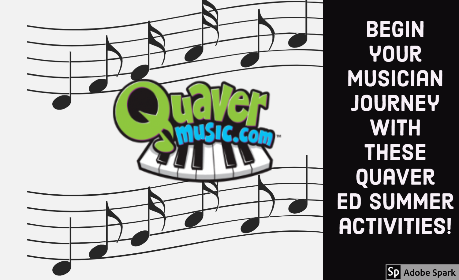 Image of Quaver ED Music summer activities announcement
