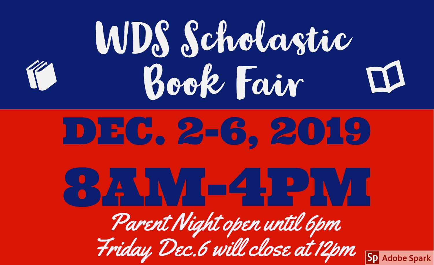 Image of Book Fair information