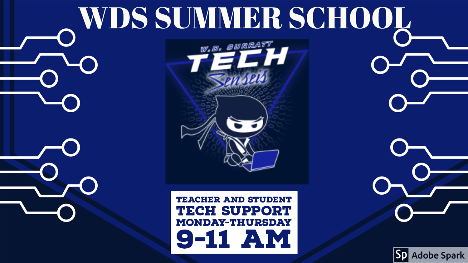 Image of Summer School Tech Support Information