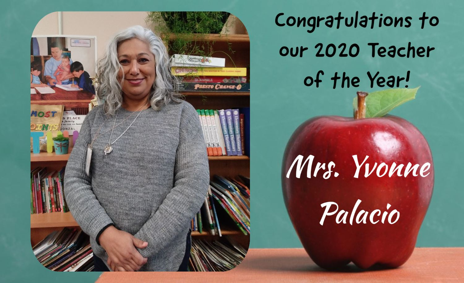 2020 Teacher of the Year!