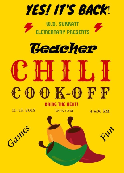 Image of chili cook-off