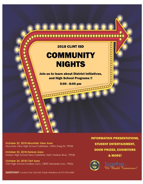 community NIGHTS