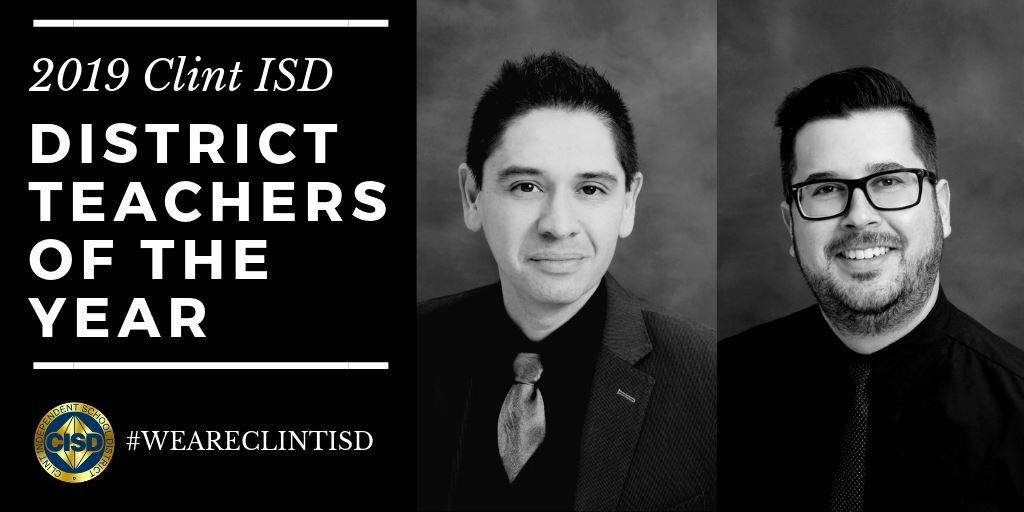2019 District Teachers of the year