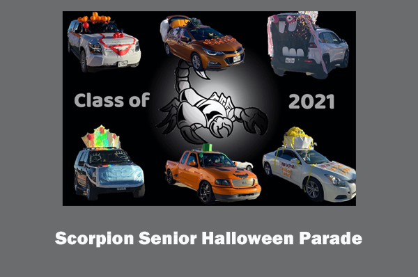 Scorpion Senior Halloween Parade