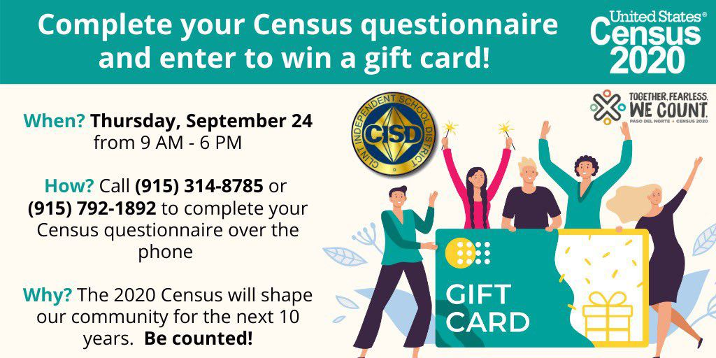 Complete your Census questionnaire