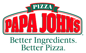 papa johns pizza better ingredients better pizza logo due to sponsorship