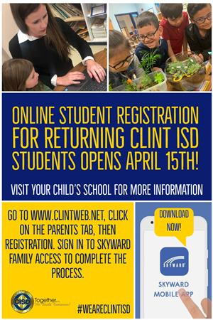ONLINE REGISTRATION FLYER