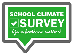 school climate survey sign